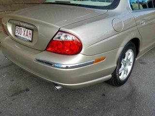 2002 Jaguar S-Type X202 Gold 6 Speed Automatic Sedan