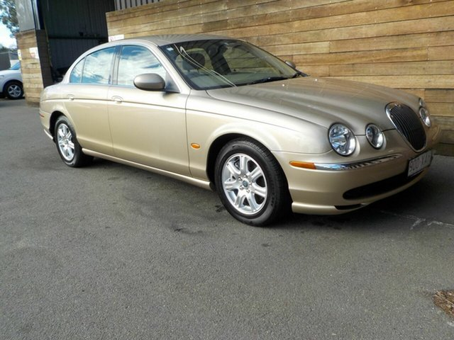 Used Jaguar S-Type X202 , 2002 Jaguar S-Type X202 Gold 6 Speed Automatic Sedan