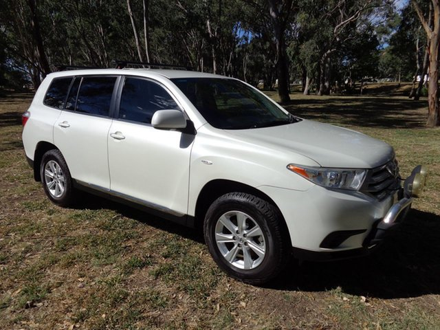 Used Toyota Kluger GSU45R MY13 Upgrade KX-R (4x4) 5 Seat, 2013 Toyota Kluger GSU45R MY13 Upgrade KX-R (4x4) 5 Seat Crystal Pearl 5 Speed Automatic Wagon