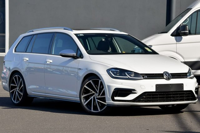 New Volkswagen Golf 7.5 MY20 R DSG 4MOTION, 2020 Volkswagen Golf 7.5 MY20 R DSG 4MOTION White 7 Speed Sports Automatic Dual Clutch Wagon