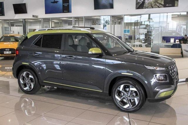 Demo Hyundai Venue QX MY20 Elite, 2019 Hyundai Venue QX MY20 Elite Rs4 6 Speed Automatic Wagon