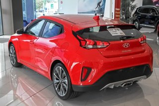 2019 Hyundai Veloster JS MY20 Coupe Ignite Flame 6 Speed Manual Hatchback