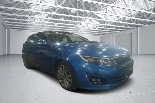 Used Kia Optima TF MY15 Platinum, 2015 Kia Optima TF MY15 Platinum Blue 6 Speed Automatic Sedan
