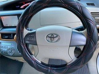2009 Toyota Estima GSR50W Aeras White Automatic Wagon