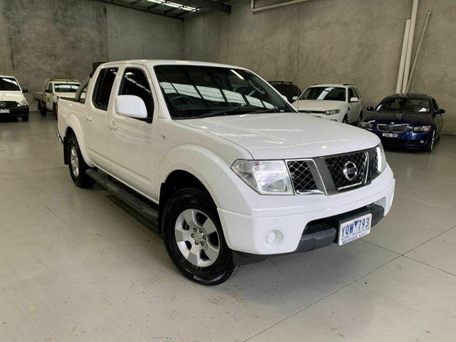 Used Nissan Navara D40 MY11 ST, 2011 Nissan Navara D40 MY11 ST White 6 Speed Manual Utility