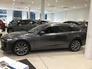 2019 Mazda 6 GL1033 GT SKYACTIV-Drive Machine Grey 6 Speed Sports Automatic Wagon.