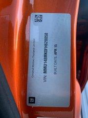2015 Holden Colorado LTZ Orange Sports Automatic Dual Cab Utility