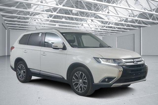 Used Mitsubishi Outlander ZK MY16 LS (4x4), 2015 Mitsubishi Outlander ZK MY16 LS (4x4) White Continuous Variable Wagon