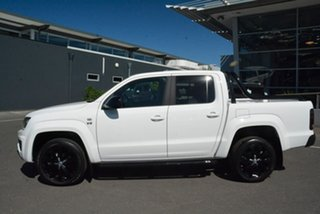 2020 Volkswagen Amarok 2H MY20 TDI580 4MOTION Perm Highline Black White 8 Speed Automatic Utility