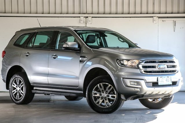 Used Ford Everest UA 2018.00MY Trend RWD, 2017 Ford Everest UA 2018.00MY Trend RWD Aluminium 6 Speed Sports Automatic Wagon