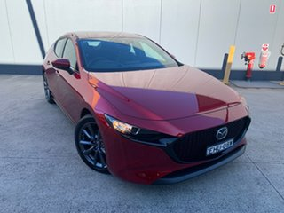 2019 Mazda 3 BP2H7A G20 SKYACTIV-Drive Touring Soul Red Crystal 6 Speed Sports Automatic Hatchback.