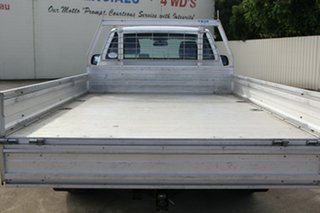 2013 Mazda BT-50 UP0YD1 XT 4x2 Cool White 6 Speed Manual Cab Chassis
