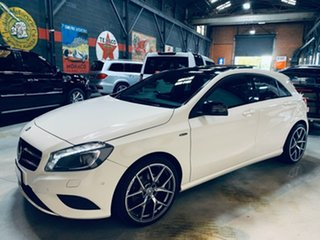 2014 Mercedes-Benz A-Class W176 A200 D-CT White 7 Speed Sports Automatic Dual Clutch Hatchback