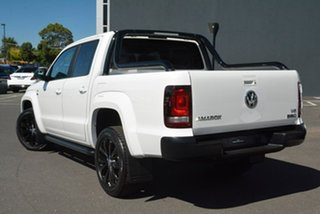 2020 Volkswagen Amarok 2H MY20 TDI580 4MOTION Perm Highline Black White 8 Speed Automatic Utility.