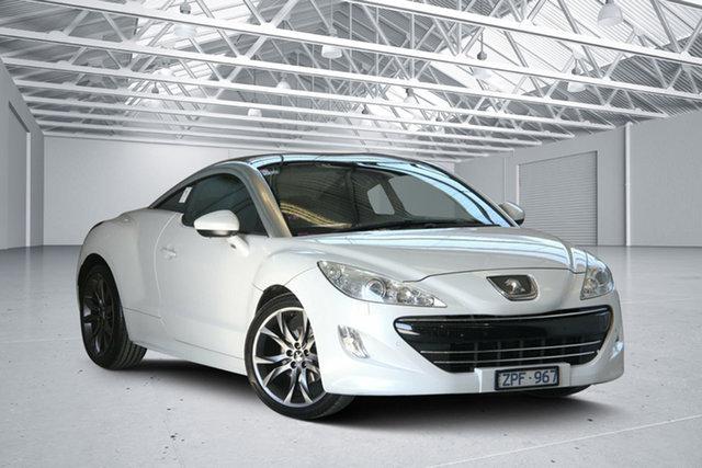 Used Peugeot RCZ  1.6T, 2012 Peugeot RCZ 1.6T Pearl White 6 Speed Tiptronic Coupe