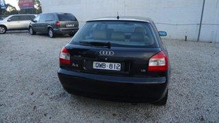 2001 Audi A3 8L MY2001 Black 5 Speed Manual Hatchback