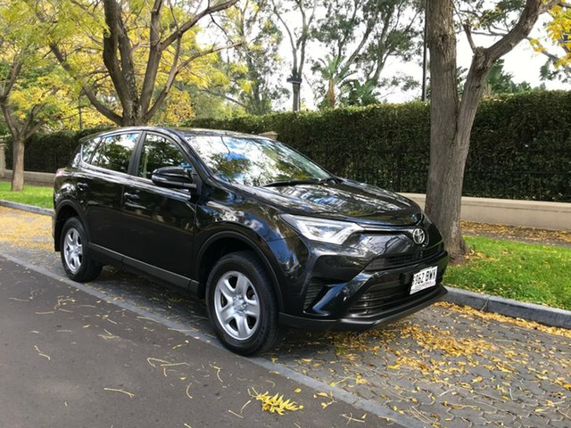 Used Toyota RAV4 ASA44R GX AWD, 2016 Toyota RAV4 ASA44R GX AWD Black 6 Speed Sports Automatic Wagon