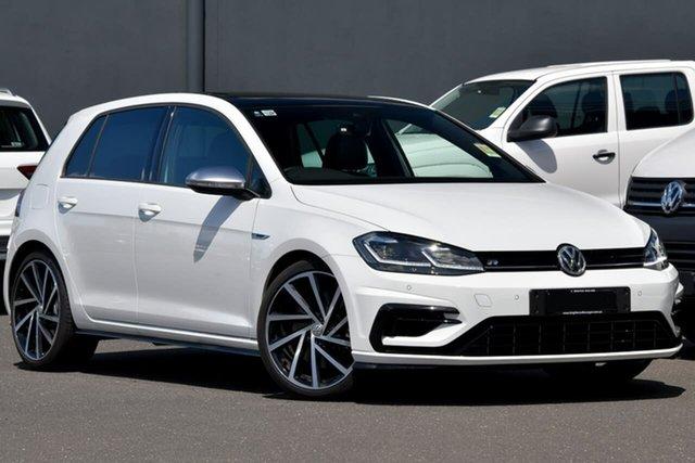 Demo Volkswagen Golf 7.5 MY20 R DSG 4MOTION, 2020 Volkswagen Golf 7.5 MY20 R DSG 4MOTION White 7 Speed Sports Automatic Dual Clutch Hatchback