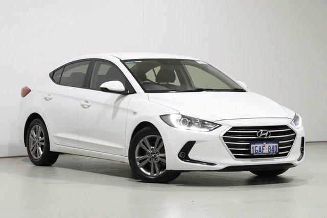Used Hyundai Elantra MD Series 2 (MD3) Active, 2016 Hyundai Elantra MD Series 2 (MD3) Active White 6 Speed Automatic Sedan