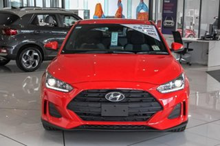 2019 Hyundai Veloster JS MY20 Coupe Ignite Flame 6 Speed Manual Hatchback.