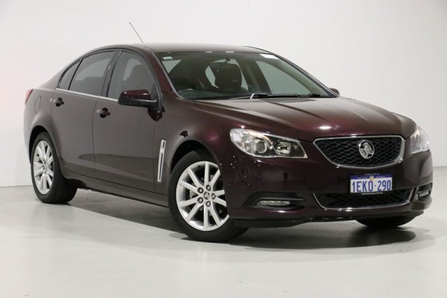 Used Holden Commodore VF MY14 International, 2013 Holden Commodore VF MY14 International Burgundy 6 Speed Automatic Sedan