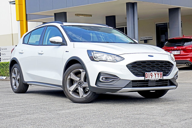 Used Ford Focus SA 2019.25MY Active, 2019 Ford Focus SA 2019.25MY Active White 8 Speed Automatic Hatchback