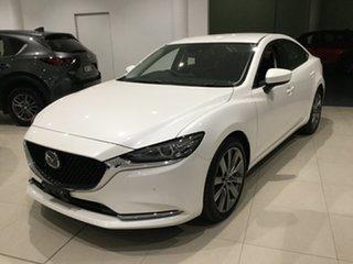 2019 Mazda 6 GL1033 GT SKYACTIV-Drive Snowflake White 6 Speed Sports Automatic Sedan.