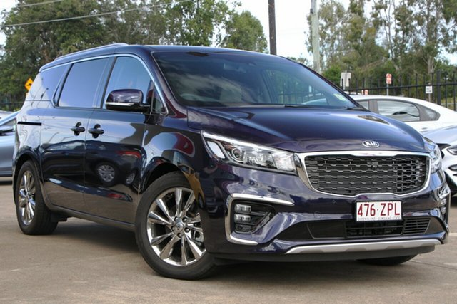 Demo Kia Carnival YP MY20 Platinum, 2019 Kia Carnival YP MY20 Platinum Deep Chroma Blue 8 Speed Sports Automatic Wagon