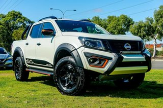 2019 Nissan Navara D23 S4 MY19 N-TREK Warrior White Diamond 7 Speed Sports Automatic Utility.