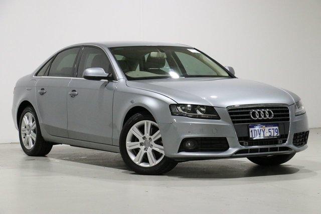 Used Audi A4 B8 (8K) MY12 2.0 TFSI, 2012 Audi A4 B8 (8K) MY12 2.0 TFSI Grey CVT Multitronic Sedan