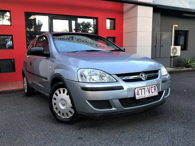 Used Holden Barina XC MY05 , 2004 Holden Barina XC MY05 Metallic Silver 5 Speed Manual Hatchback