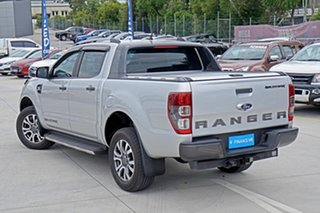 2018 Ford Ranger PX MkIII 2019.00MY Wildtrak Pick-up Double Cab Silver 6 Speed Sports Automatic.