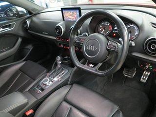 2014 Audi S3 8V MY15 S Tronic Quattro Red 6 Speed Sports Automatic Dual Clutch Sedan