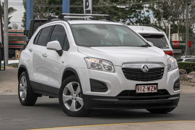 Used Holden Trax TJ MY16 Active, 2016 Holden Trax TJ MY16 Active White 6 Speed Automatic Wagon