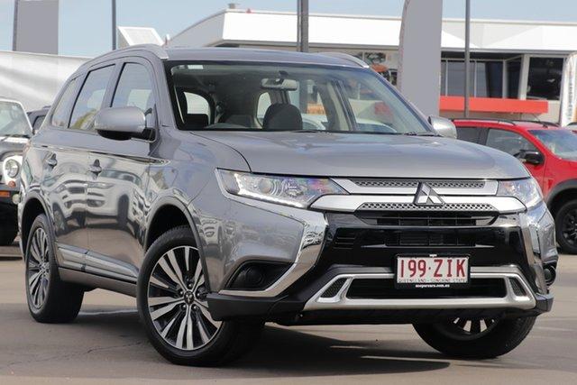 Used Mitsubishi Outlander ZL MY19 ES 2WD, 2019 Mitsubishi Outlander ZL MY19 ES 2WD Titanium 6 Speed Constant Variable Wagon