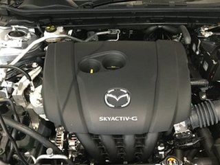 2019 Mazda 3 BP2H7A G20 SKYACTIV-Drive Pure Sonic Silver 6 Speed Sports Automatic Hatchback
