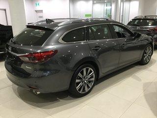 2019 Mazda 6 GL1033 GT SKYACTIV-Drive Machine Grey 6 Speed Sports Automatic Wagon