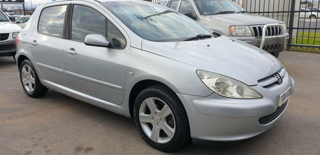Used Peugeot 307 T5 MY04 XSR, 2004 Peugeot 307 T5 MY04 XSR Silver 4 Speed Sports Automatic Hatchback