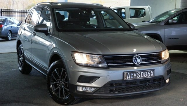 Used Volkswagen Tiguan 5N MY17 132TSI DSG 4MOTION Comfortline, 2016 Volkswagen Tiguan 5N MY17 132TSI DSG 4MOTION Comfortline Tungsten Silver 7 Speed