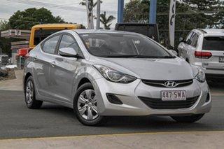 2012 Hyundai Elantra MD Active Silver 6 Speed Manual Sedan.