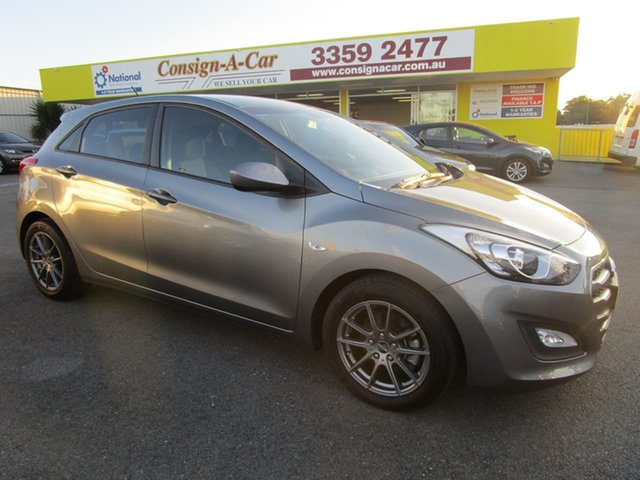Used Hyundai i30 GD4 Series II MY17 Active, 2016 Hyundai i30 GD4 Series II MY17 Active Grey 6 Speed Sports Automatic Hatchback