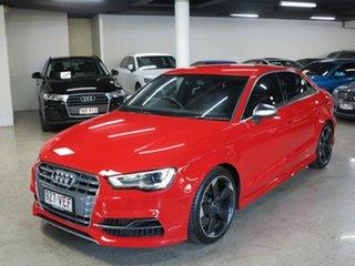 2014 Audi S3 8V MY15 S Tronic Quattro Red 6 Speed Sports Automatic Dual Clutch Sedan.