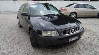 2001 Audi A3 8L MY2001 Black 5 Speed Manual Hatchback.