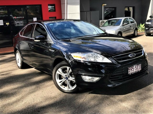 Used Ford Mondeo MC Zetec PwrShift EcoBoost, 2011 Ford Mondeo MC Zetec PwrShift EcoBoost Metallic Black 6 Speed Sports Automatic Dual Clutch