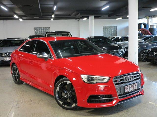 Used Audi S3 8V MY15 S Tronic Quattro, 2014 Audi S3 8V MY15 S Tronic Quattro Red 6 Speed Sports Automatic Dual Clutch Sedan