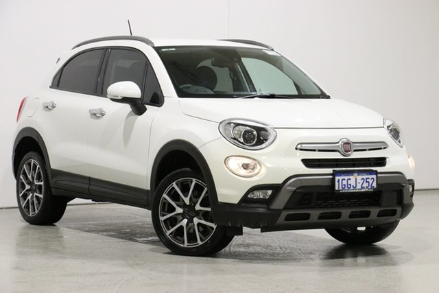 Used Fiat 500X  Cross Plus, 2017 Fiat 500X Cross Plus White 9 Speed Automatic Wagon