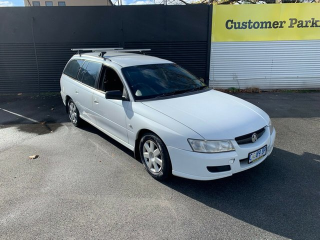 Used Holden Commodore VZ@VE Executive, 2007 Holden Commodore VZ@VE Executive White 4 Speed Automatic Wagon