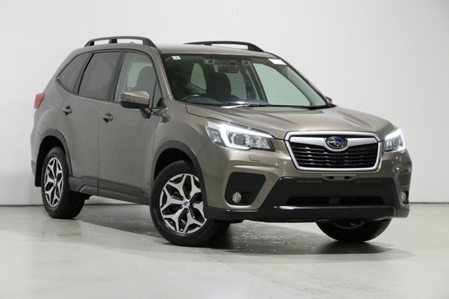 Used Subaru Forester MY19 2.5I (AWD), 2018 Subaru Forester MY19 2.5I (AWD) Sepia Bronze Continuous Variable Wagon