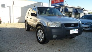 2002 Ford Escape BA XLT Silver 4 Speed Automatic Wagon.