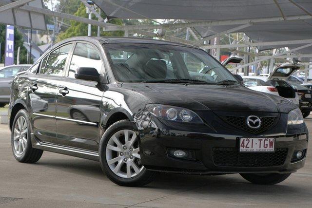 Used Mazda 3 BK10F2 Maxx Sport, 2007 Mazda 3 BK10F2 Maxx Sport Black 4 Speed Sports Automatic Sedan
